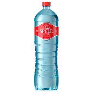 Spele, 1,5 л, Вода негазированная, Detox, ПЭТ