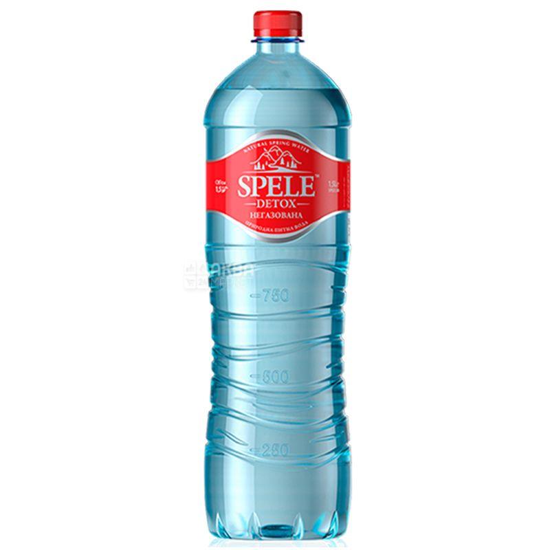 Spele Detox, Вода негазована, 1,5 л, ПЕТ