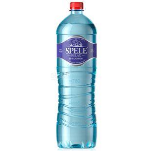 Spele, 1,5 л, Вода негазированная, Relax, ПЭТ