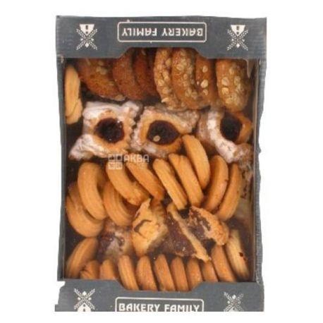 Bakery Family, 700 г, Печенье, Любимое, Набор Ассорти