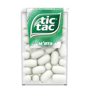 TicTac, 16 g, Draže, Mint