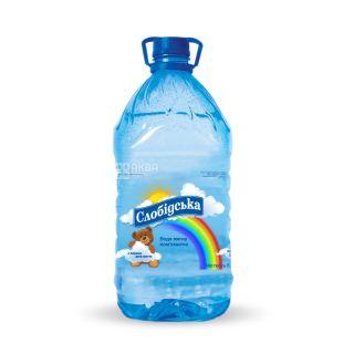 Cлобiдська, 6 л, Негазована вода, Дитяча, ПЕТ