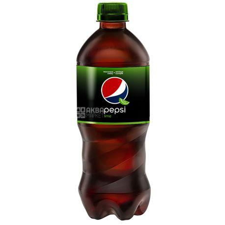 Pepsi, Упаковка 24 шт. по 0.5 л, Сладкая вода, Lime, ПЭТ