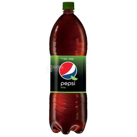 Pepsi-Cola, Lime, Упаковка 6 шт. по 2 л, Пепсі-Кола, Лайм, Вода солодка, ПЕТ