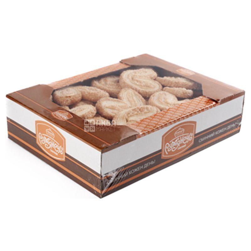 Рум'янець, 500 г, Печиво, Вушка, Листкове