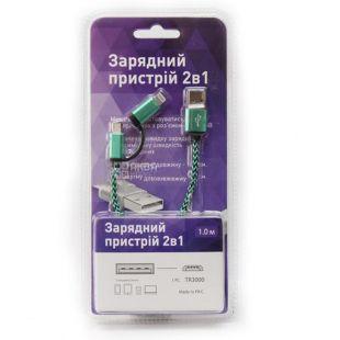 EcoKraft, Зарядное устройство, TR3000, 2в1