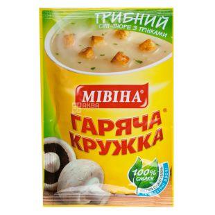 Mivina, 15 g, Cream Soup, Hot Mug, Mushroom Mushroom Croutons, m / s