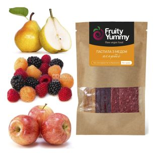 Fruity Yummy, 40 g, Pastila assorted with honey, m / s