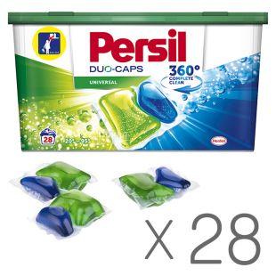 Persil, 28 шт, Капсули, Для прання, Універсальні, ПЕТ
