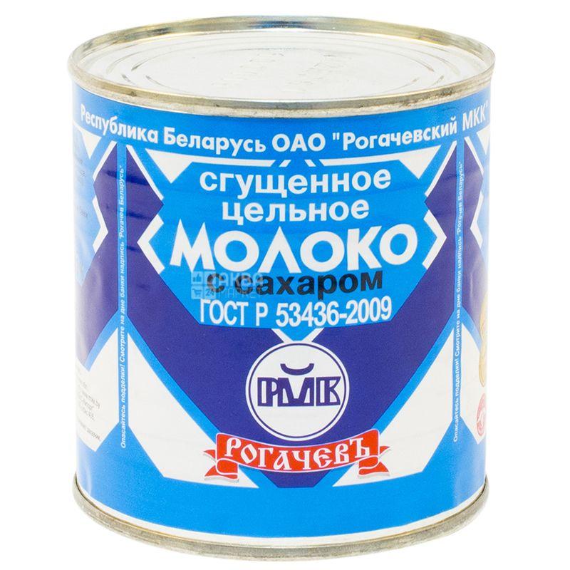 Рогачов, 380 г, Молоко згущене незбиране з цукром 8.5%, ж / б