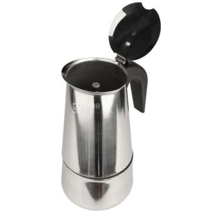 Coffee maker A-Plus stainless steel geyser 6 cups cardboard