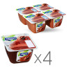 Alpro Soya Chocolate, Packaging 4 pcs. 125 g, chocolate soy dessert, soy yogurt