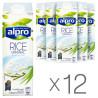 Alpro Rice Original (рисовое молоко), Упаковка 12 шт. по 1 л, Напиток рисовый