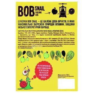 Bob Snail, 120 г, Пастила, Яблочная, Картонная коробка