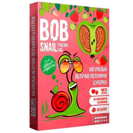 Bob Snail, 120г, Пастила, Яблучно-клубничная, Картонная коробка