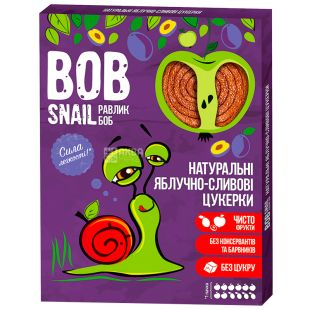 Bob Snail, 120g, apple-plum fruit paste