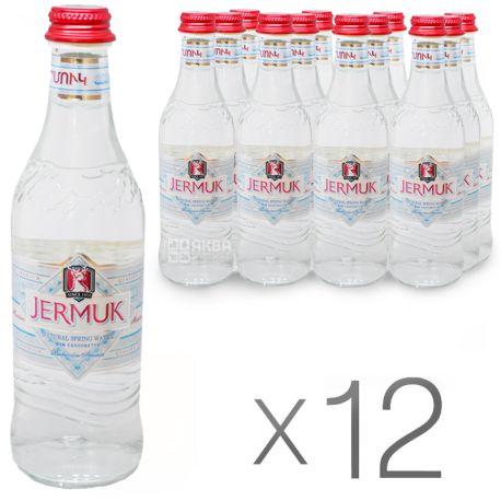 Джермук, 0,33 л, Упаковка 12 шт., Вода мінеральна негазована, скло