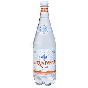 Aсqua Panna, 1 л, Вода минеральная негазированная, ПЭТ