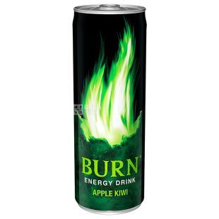 Burn Apple Kiwi, 0,5 л, Напиток энергетический Бёрн Яблоко-Киви