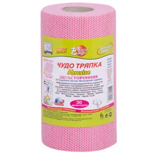 Bagi, 1 roll, 30 sheets, Rag, Abrasive, Double-sided, m / s