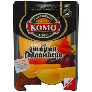 Комо, 150 г, Сыр твердый, Старый Голландец, Слайсы, термоформаж