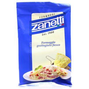 Zanetti Formaggio grattugiato fresco, 100 г, Сыр Тертый, в/у