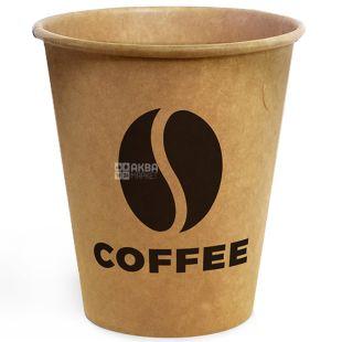 Склянка паперова Крафт Coffee 400мл 50 шт