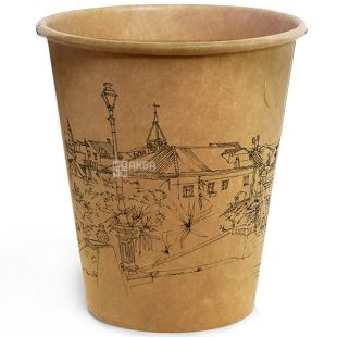 Склянка паперова Крафт Стріт 180мл 50 шт