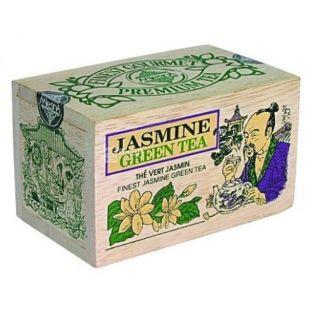 Mlesna, Чай зеленый, Жасмин, 100 г