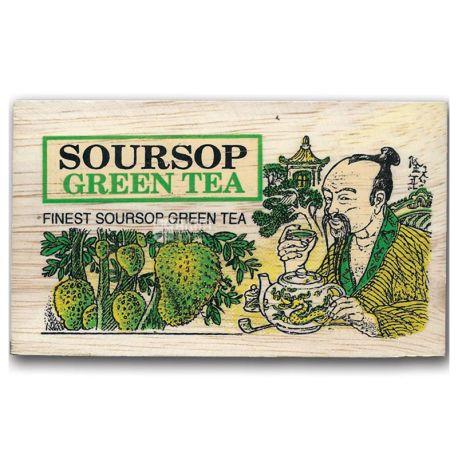 Mlesna, Зеленый чай, Саусеп, 100 г, д/к