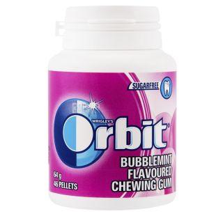 Orbit Bubblemint, 46 шт., Жувальна гумка, У банці