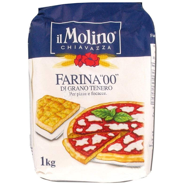 IL Molino, 1 kg, Flour for pizza, Soft varieties