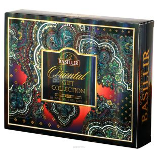 Basilur, 60 пак, Подарунковий набір чаю, Східна колекція