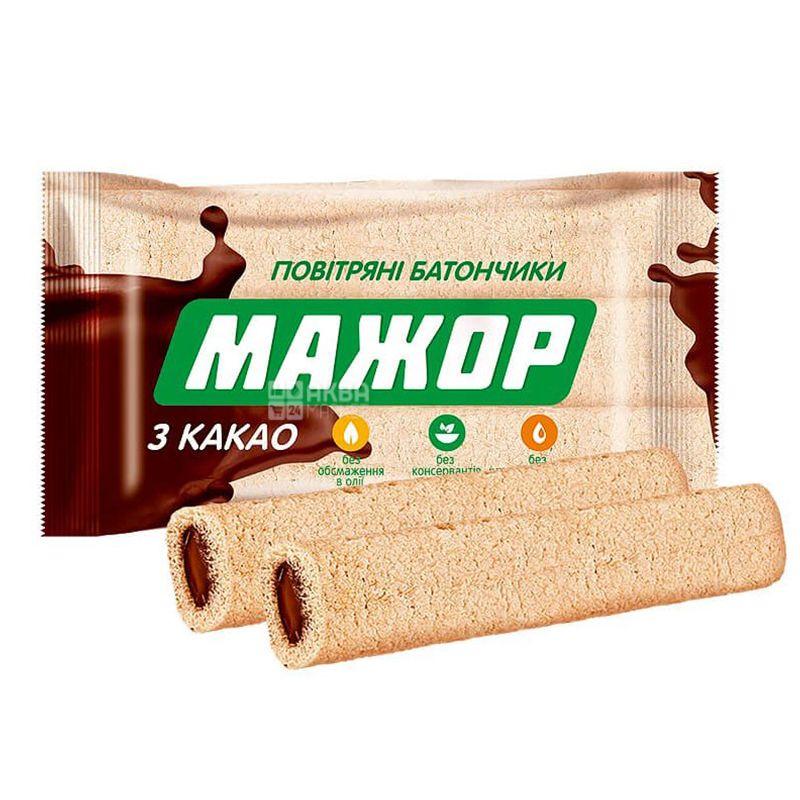 АВК, Батончик Мажор с какао, 196 г, м/у