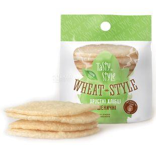 Tasty style, 60 г, Хлебцы пшеничные
