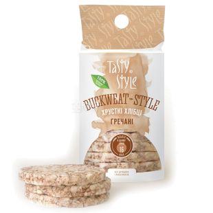 Tasty style, 95 g, buckwheat bread crisps