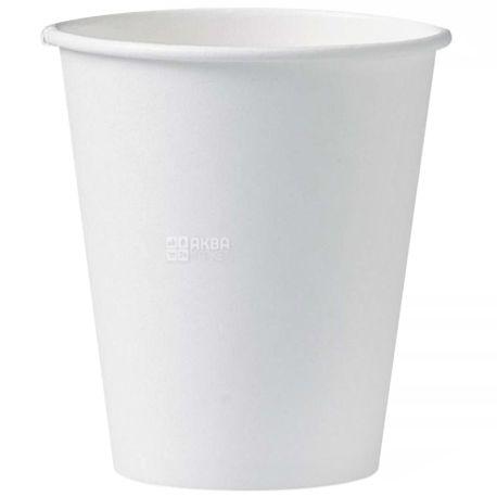 Стакан бумажный белый 180 мл, 50 шт., 40 упаковок, D69