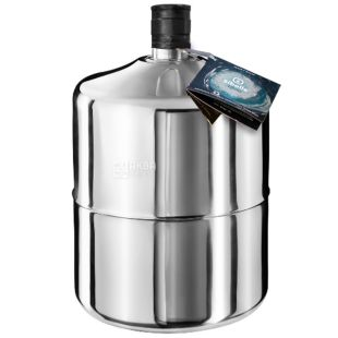 Sibolle Alpine Water from the Alps, 18.9 l, stainless steel bottle