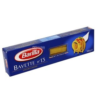 Barilla Bavette №13, 500 г, Макарони Барілла Баветте