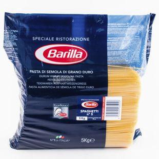 Barilla, 5 кг, Макарони, Spaghetti n.5, м/у