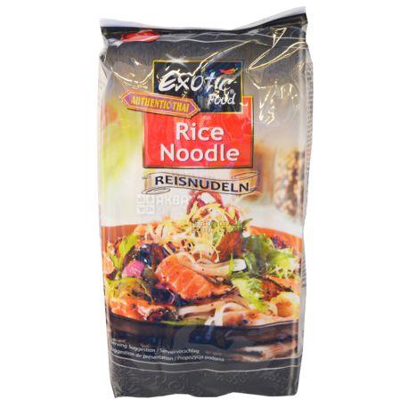 Exotic Food, Rice Noodle, 250 г, Локшина рисова Екзотик Фуд