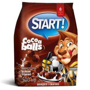 Start, 500 г, Кульки з какао, Сухий сніданок