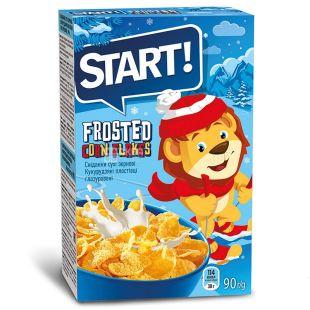 Start, 90 г, Пластівці, Глазуровані, Сухий сніданок