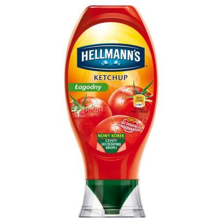 Hellmann's, 450 г, Кетчуп, Лагідний, ПЕТ