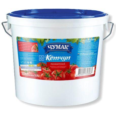 Chumak, 5 kg, Ketchup, Tomato, plastic bucket