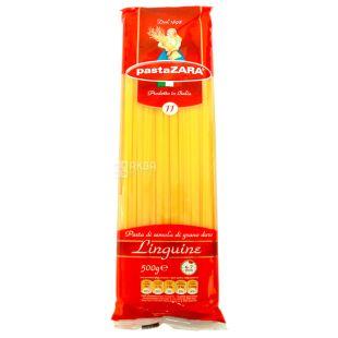 Pasta Zara Linguine №11, 500 г, Макароны длинные плоские Лингуини Паста Зара