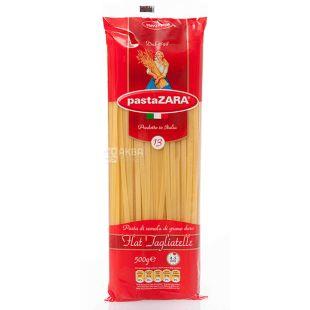 Pasta Zara Flat Tagliatelle №13, 500 г, Макароны Лапша плоская Паста Зара Флэт Тальятелле