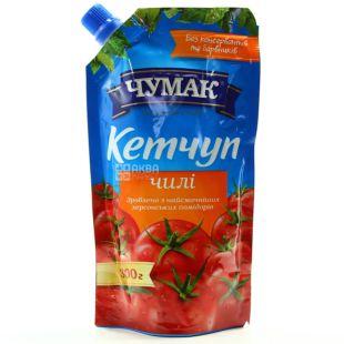 Chumak, 300 g, Ketchup, Tomato, Chile, doy-pack