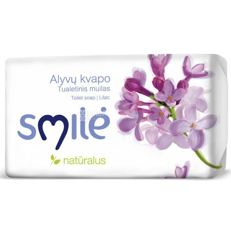 Ringuva Smile, 90 г, Туалетне мило, з запахом бузку
