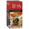 Tess, Goldberry, 25 пак., Чай Тесс, Голдберри, черный  с ароматом облепихи и айвы, м/у